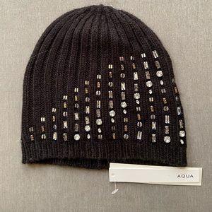 Aqua - Winter Hat Black